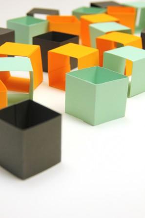 DIY 3D Geometric Garlands