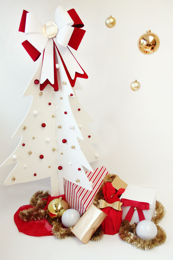 DIY Foam Core Christmas Tree