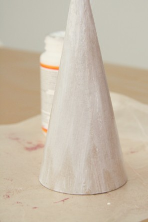 DIY Glitter Party Hats with Mod Podge