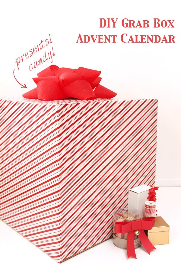 DIY Grab Box Advent Calendar