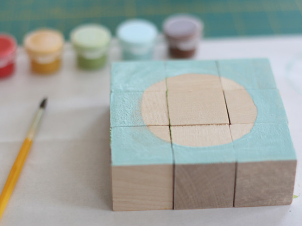 DIY Wooden Block Puzzle