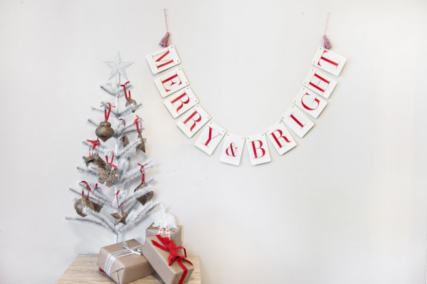 Holiday Banners by Tuck and Bonte