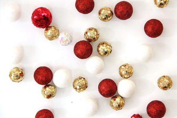 Mini Faux Tree Ornaments
