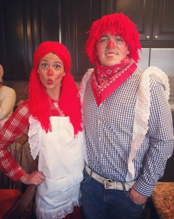Raggedy Anne and Ragedy Andy Costumes