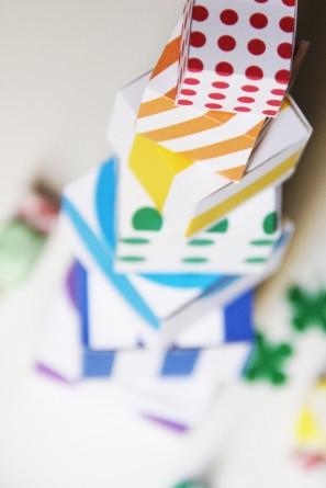 Free Printable Rainbow Boxes