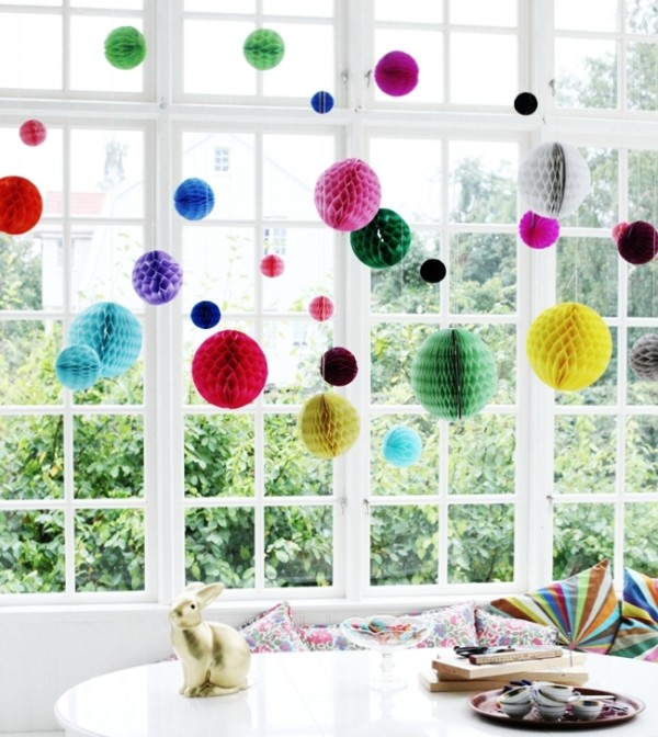 Hanging Honeycomb Party Decor