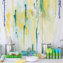 Max's DIY Messy Paint Party