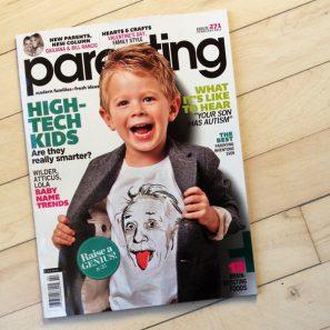 Studio DIY in Parenting Magazine