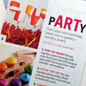 Studio DIY in Parenting Magazine February 2013