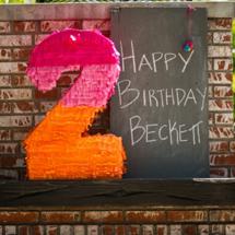 Beckett's DIY Art Birthday Party