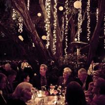 Kelli + Brian's Rustic DIY Garden Party Wedding