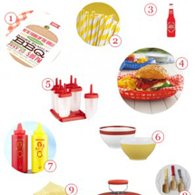 Red + Yellow Memorial Day Barbecue Supply Guide