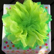 DIY Neon Gift Wrap