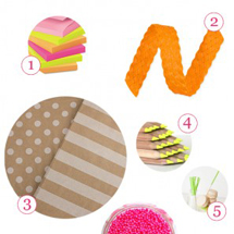 Neon, Well Krafted Party Supply Guide