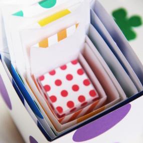 St. Patrick's Day Free Printable DIY Rainbow Boxes