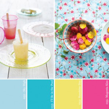 Hue It Yourself: Punchy Summer Pool Party