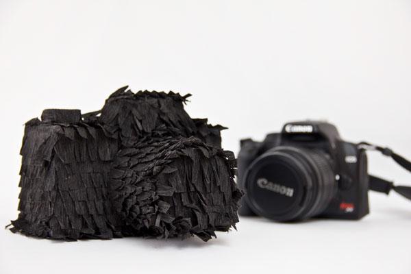 DIY Camera Piñata