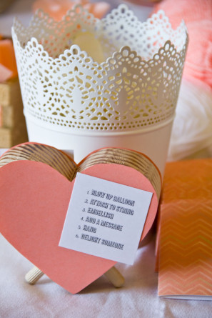 DIY Balloon Valentines