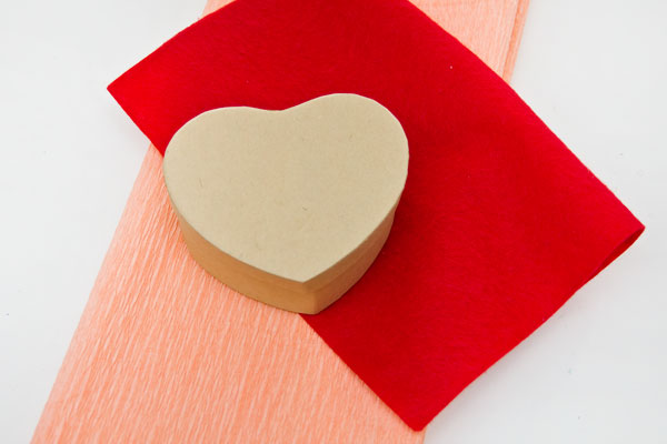 DIY Conversation Heart Pinata Supplies