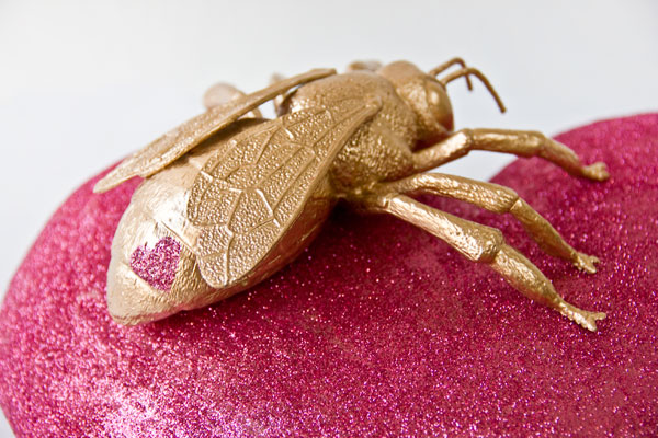 DIY Gilded Love Bugs