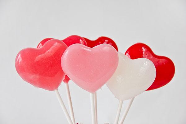 DIY Lollipops for Valentine's Day