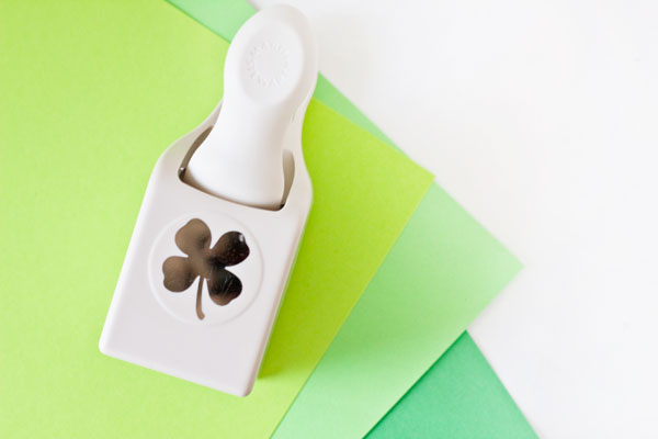 Four Leaf Clover Paper Punch