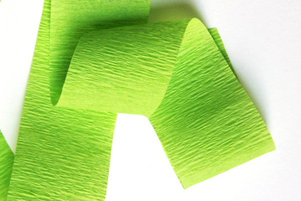Green Crepe Paper