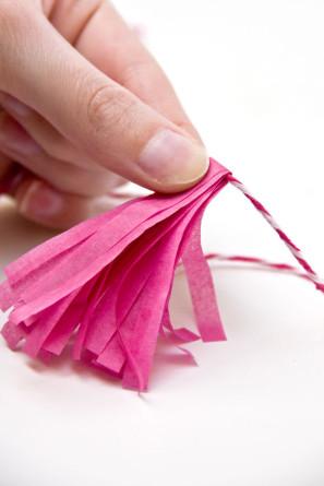 Mini Tissue Paper Tassels