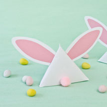 DIY Easter Bunny Treat Pouches