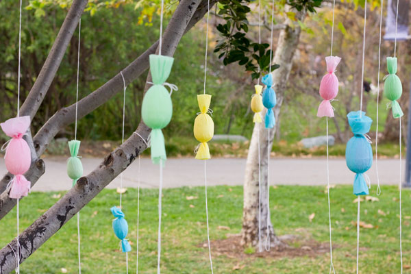 DIY Egg Popper Trees