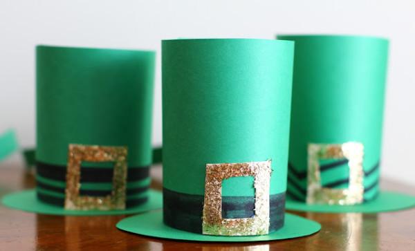 DIY Leprechaun Hats