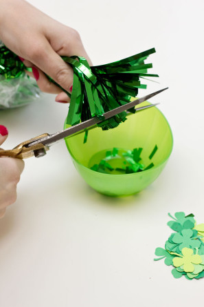 DIY St Patricks Day Confetti