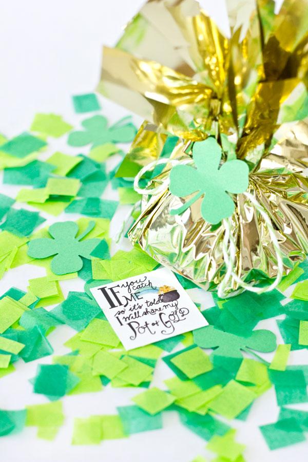 Free Printable St Patricks Day Leprechaun Notes