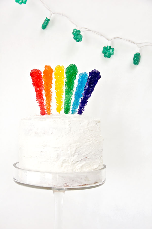 Rock Candy Cake Topper