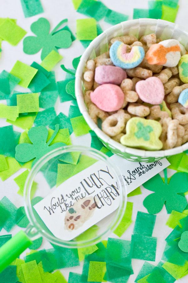 St Patricks Day Free Printable Leprechaun Notes