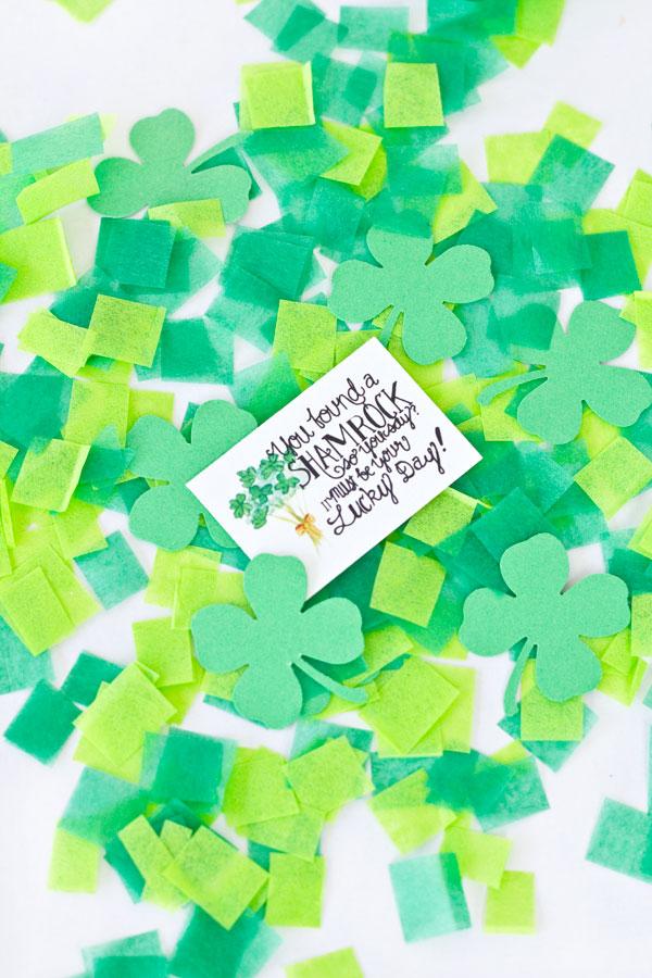 St Patricks Day Printable Leprechaun Notes