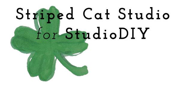 Striped Cat Studio for Studio DIY