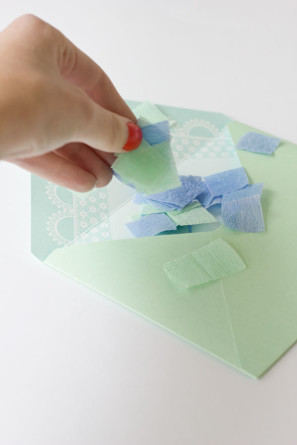 Confetti Filled Envelopes