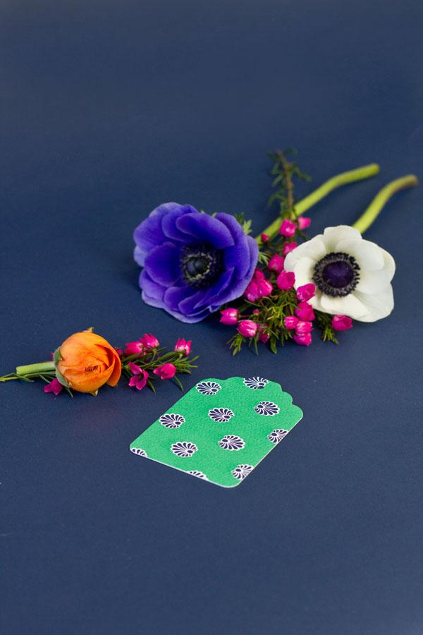 Flower Gift Tag DIYs