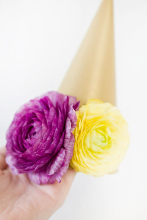 Flower Party Hat How To