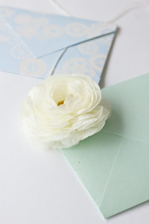 Fresh Flower Envelopes