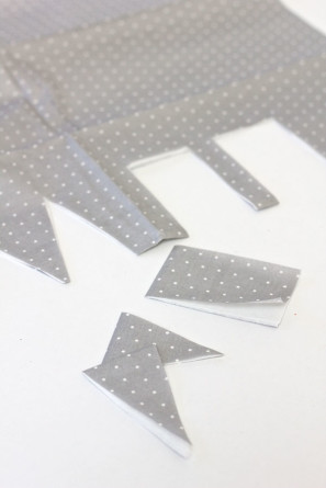 Paper Napkin Flags