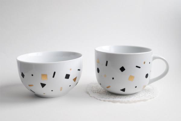 DIY Confetti Mugs