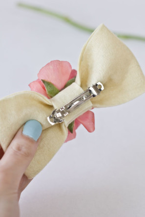 Flower Bow DIY Tutorial