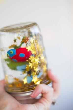 Glitter Critter Jar Favors