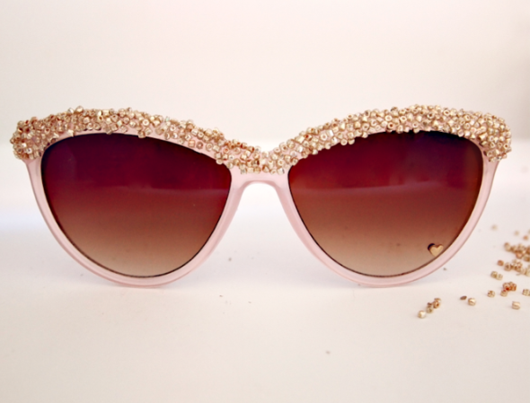 DIY Beaded Sunglasses