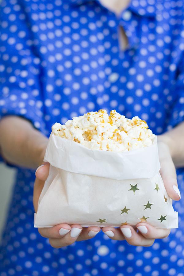 DIY July 4th Popcorn Bags