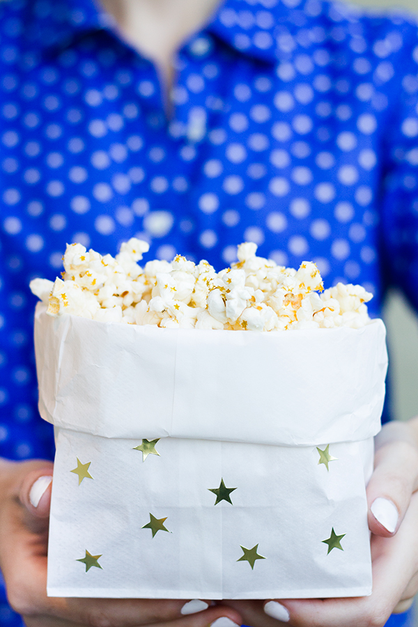 DIY Popcorn Bags for July 4th