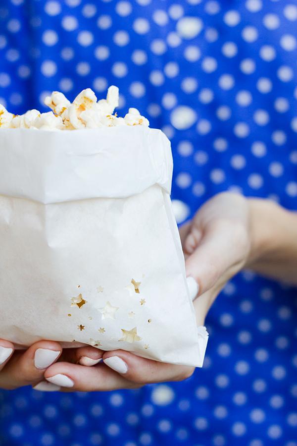 Fourth of July Popcorn Bags DIY