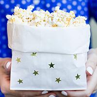 DIY Popcorn Bags